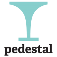 Guided pedestal